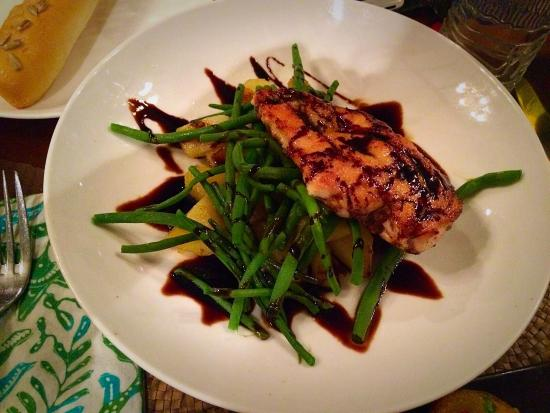 Marinated balsamic chicken breast - Picture of Biku, Kerobokan ...