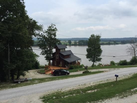 Picture Of Colucci Log Cabins On The Ohio River