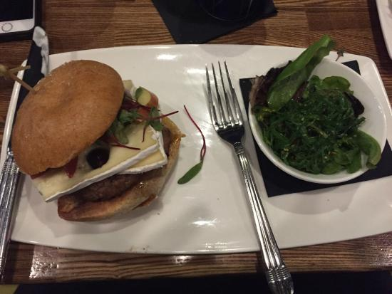 Turkey Burger w/ Cranberries & Brie - Picture of The Cowfish Sushi ...