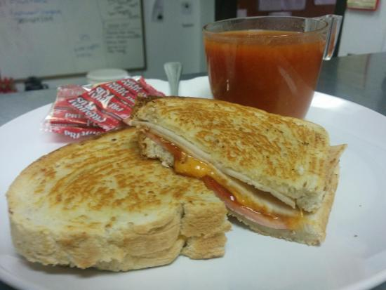 Cranbrook, كندا: Fresh, clean and gooey grilled sandwiches will make you crave more.