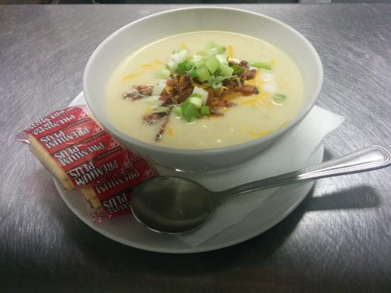 """Cranbrook, كندا: """"Fully Loaded Potato Soup"""" is a meal in a bowl. Yum!"""