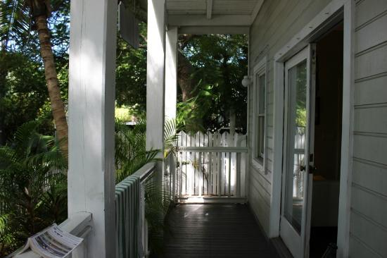 Our private porch from other end picture of chelsea for Chelsea pool garden key west