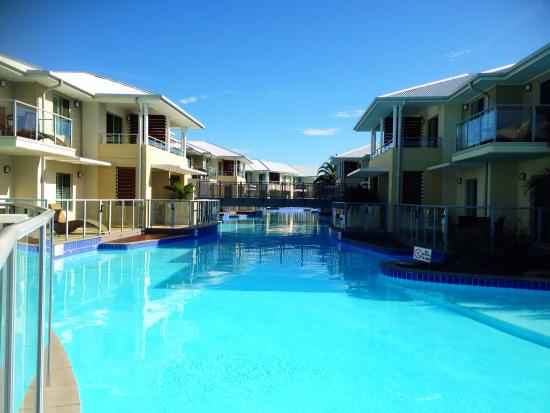 too cold for a dip picture of oaks pacific blue resort salamander bay port stephens tripadvisor