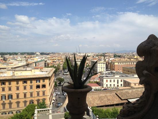 View Out Of Vatican Museum  Picture Of Private Tour Of Rome  Rome Day Tours