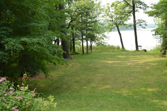 Squaw Lake, MN: View of Dixon Lake from DJ's Cabin