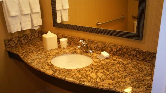 Bathroom Sink Picture Of Hilton Garden Inn Fontana