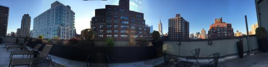 The Marcel at Gramercy: Panoramic from roof deck.