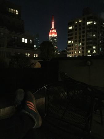 The Marcel at Gramercy: Roof top deck.