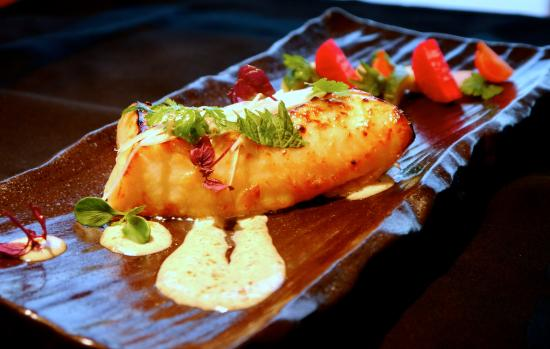 Miso Glazed Black Cod - Picture of re/ASIAN CUISINE by Wolfgang Puck ...