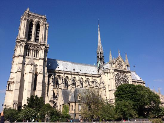 Catedral de notre dame exterior picture of notre dame for Exterior notre dame