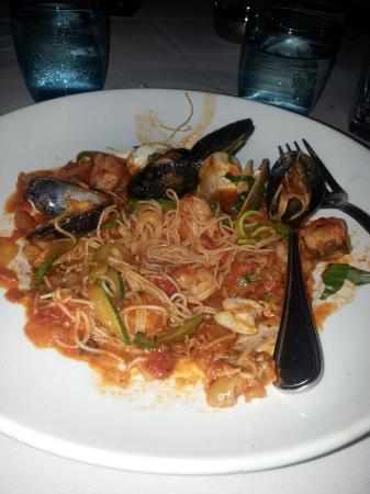 Seafood pasta not very good sorry picture of blue for Blue moon fish company brunch