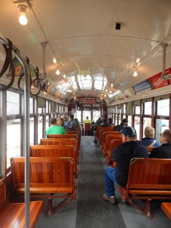 canal street car at terminus new orleans museum of art picture of rta streetcars new. Black Bedroom Furniture Sets. Home Design Ideas