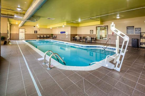 Indoor Pool Picture Of Homewood Suites By Hilton