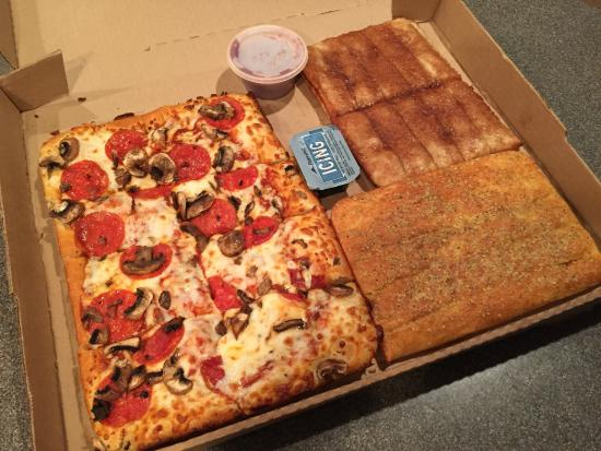 $10 Dinner Box - Great deal! - Picture of Pizza Hut ...