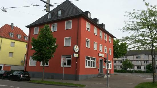 au enansicht von der g nsefu allee picture of restaurant suriya ludwigsburg tripadvisor. Black Bedroom Furniture Sets. Home Design Ideas
