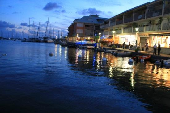 Marina port royale marigot very beautiful at the sunset - Marina port la royale marigot st martin ...