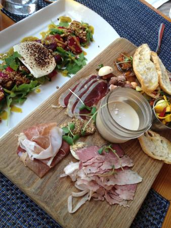 Beet Salad Amp Charcuterie Platter Picture Of Ravine Winery Restaurant Niagara On The Lake