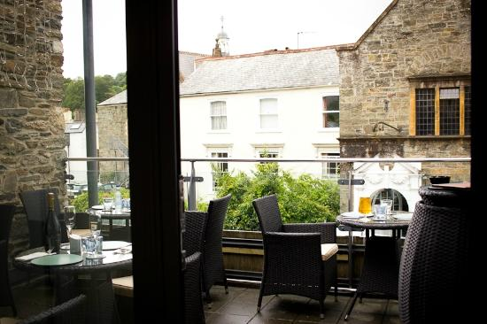 Teaarce picture of the terrace restaurant tavistock for Terrace on the park restaurant