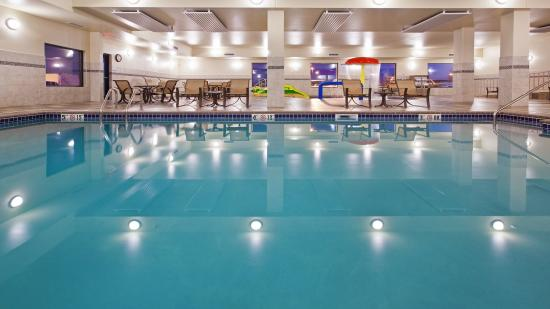 Swimming Pool Picture Of Homewood Suites By Hilton Sioux