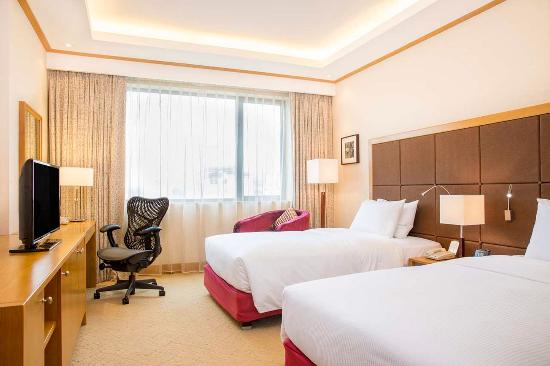 Twin bed guest room picture of hilton garden inn hanoi for Garden guest room