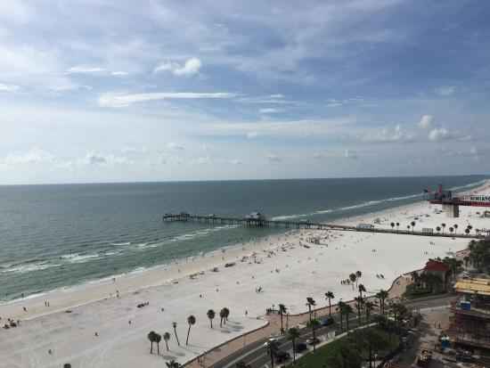 Views From Gulf Terrace Suite And From Beach Picture Of