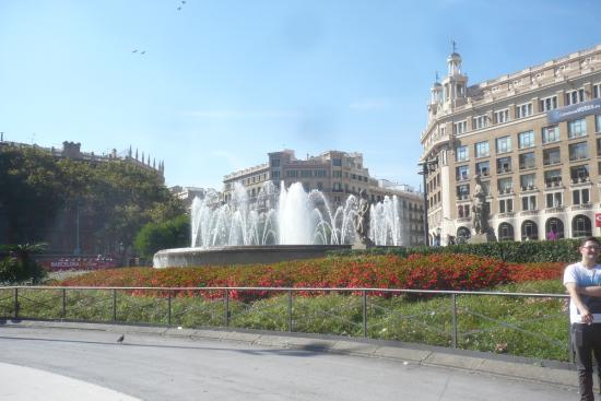 The Fountain  Picture of Catalunya Square, Barcelona