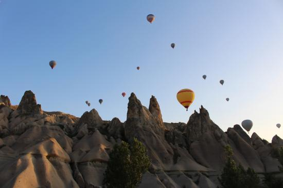 Hot Air Balloon - Picture of HTR Cappadocia Tours, Urgup ...