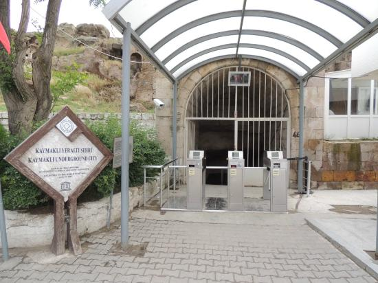 Entrance to the Underground City