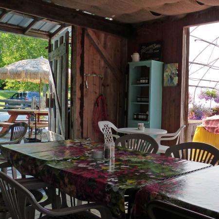 Interior of the garden shed cafe picture of garden shed for Garden shed tripadvisor