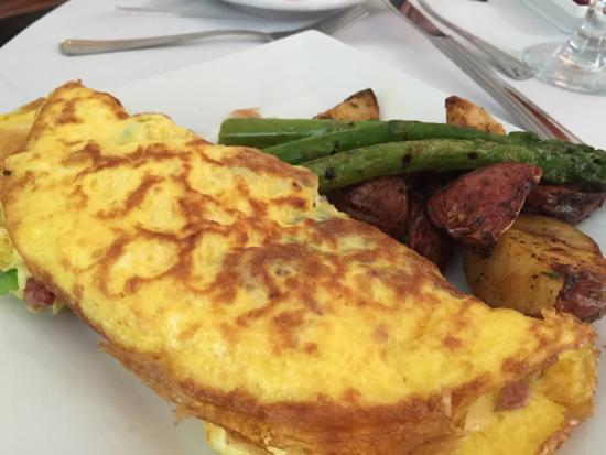 The Buttery: Omelette of the day for Sunday Brunch