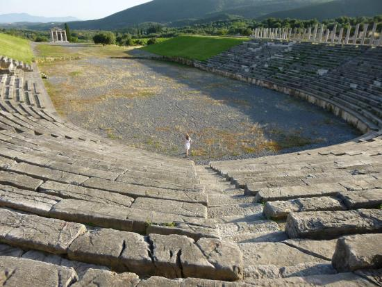 The Stadium at Ancient Messini - Picture of Ancient ...