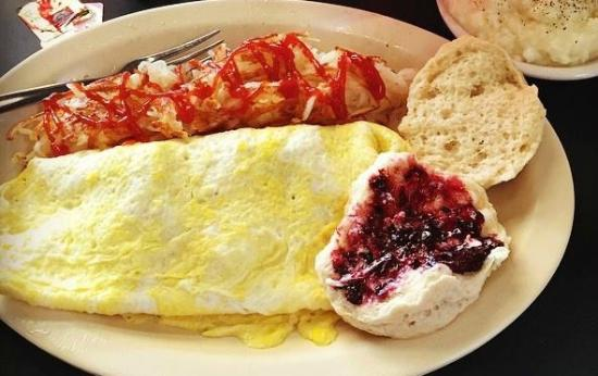 Sebring, Φλόριντα: An all-American breakfast with freshly made homemade jelly