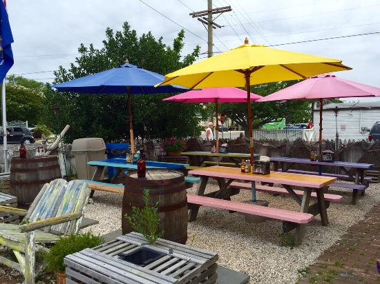backyard seating picture of key west tacos west cape may