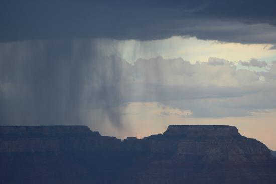 Storm on North Rim...view