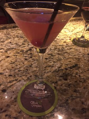 Ron Makes A Great Cosmo At The Bar Picture Of Olive Garden Kennesaw Tripadvisor