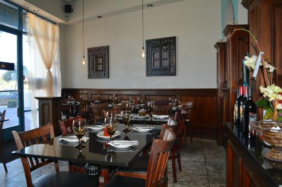 Dining room picture of aryana afghan cuisine danville for Aryana afghan cuisine