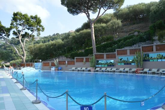 The Pool Picture Of Hotel Bristol Sorrento Tripadvisor