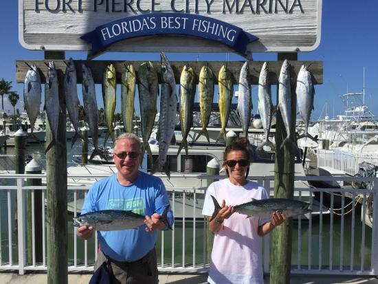 Great day fishing picture of last mango fishing for Fishing charters fort pierce fl