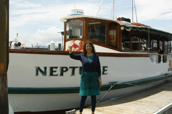 The beautiful owner of the cruise note that the vessel for Wine therapy boat sf