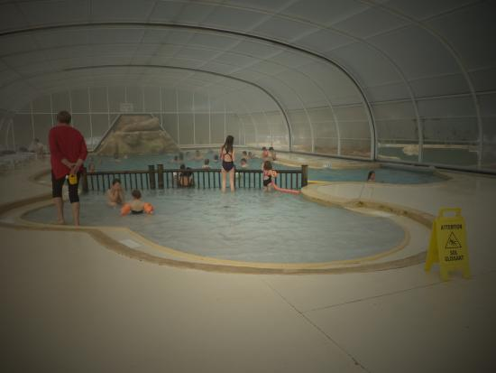 Piscine couverte for Camping normandie piscine couverte