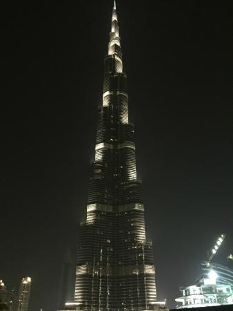 Burj khalifa near the hotel picture of the palace for Burj khalifa room rates per night
