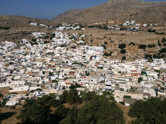 photo0.jpg - Picture of Village of Lindos, Lindos ...