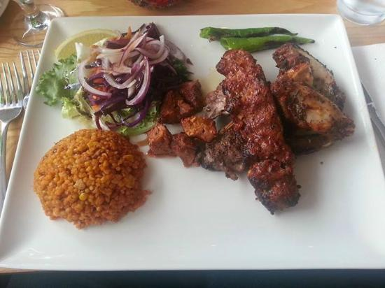 Mixed bbq picture of anatolia turkish restaurant lytham for Anatolia turkish cuisine