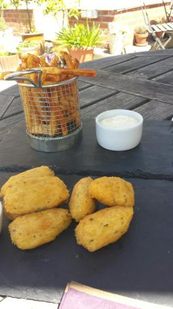Cliff House Hotel Photo: Delicious salt cod balls with homemade aioli