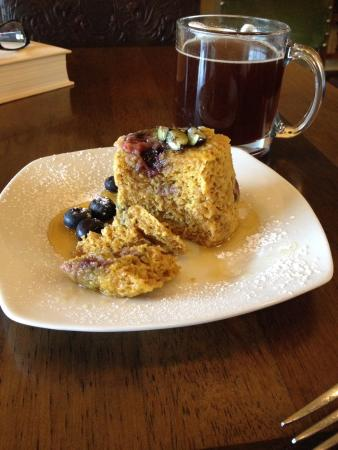 Skinny muffin - Picture of Hummingbird Tea Room & Bakery, The ...