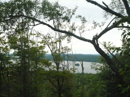 Cranberry Lake, NY: Scenes from the Bear Mountain trail hike