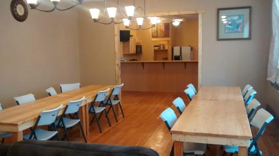 Gooding, ID: dining room