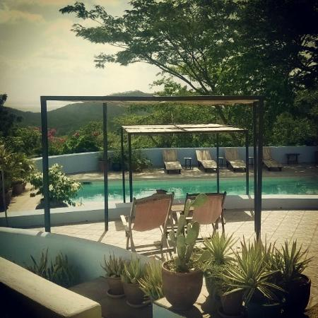 Our guest are welcome to chill poolside picture of el for Camping el jardin san juan