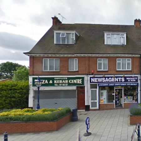 Potters Bar, UK: on the High Street
