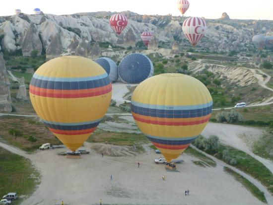 Urgup Experience - Picture of Urgup Hot Air Balloons ...